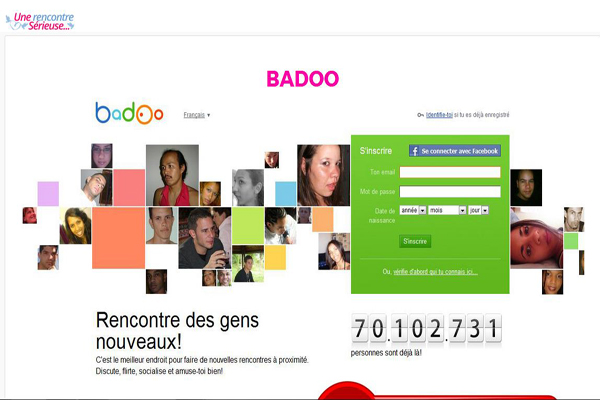 Inscription badoo fr